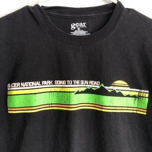 Other - Glacier National Park Black T-shirt